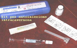 DISFUNZIONE ERETTILE: I farmaci intracavernosi